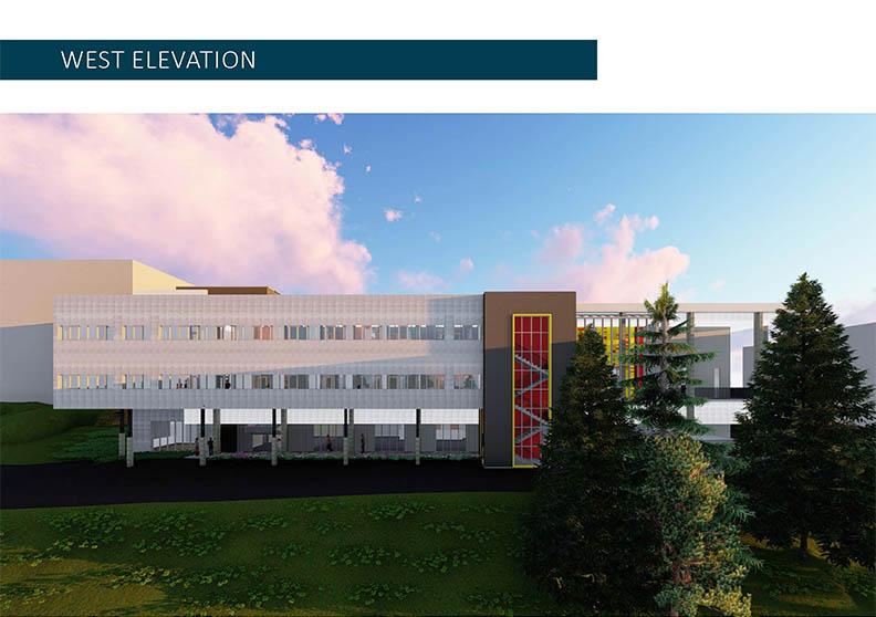 Image of Building 26 West Elevation